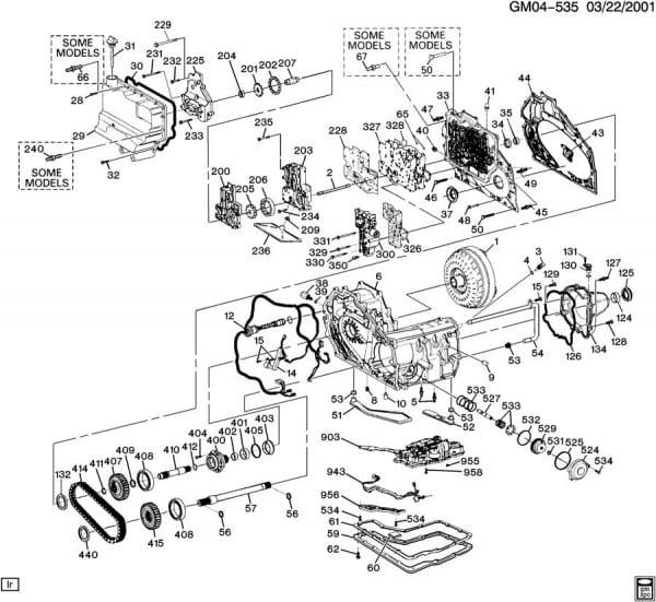2001 Pontiac Bonneville Transmission