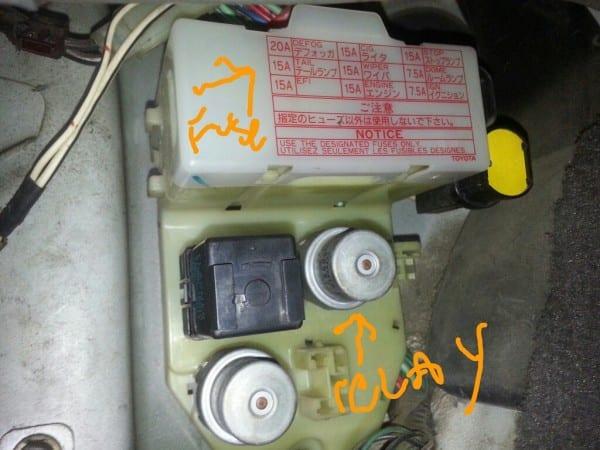 4runner Dash Lights Issue