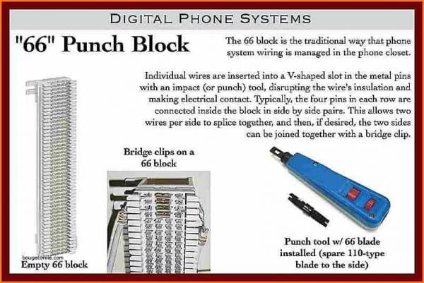 110 Punch Down Block Wiring Diagram 25 Pair 66 Showy