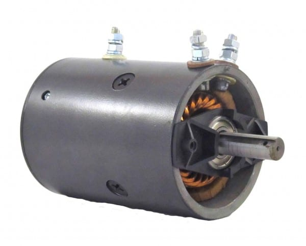 Rareelectrical  12v Winch Motor Fits Warn Winch 462262 Mbj
