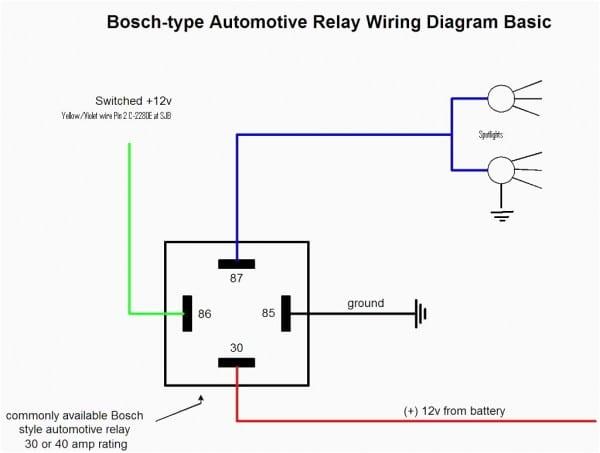 12v Auto Relay Wiring Diagram