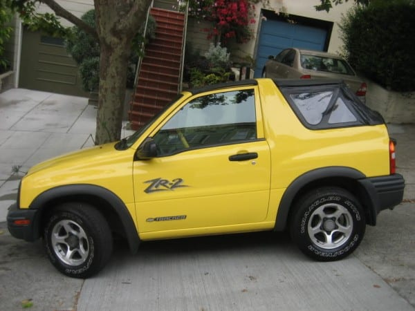Researching The 2003  Chevy  Tracker Convertible