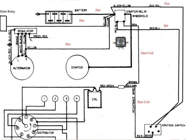 Ford Tractor Starter Solenoid Wiring