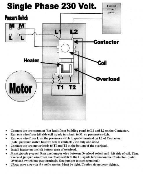 Air Compressor Magnetic Starters