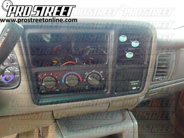 2001 Silverado Speaker Wiring