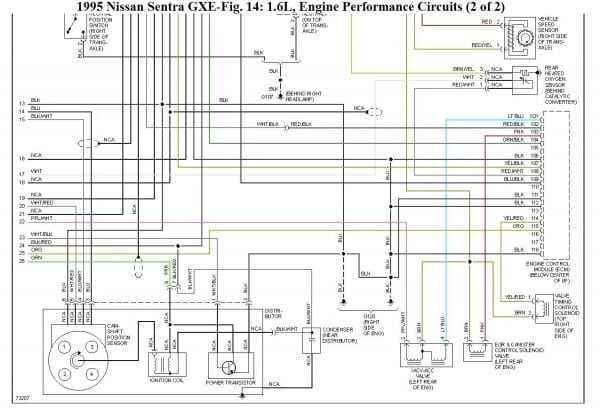 2001 Maxima Ecm Wire Diagram