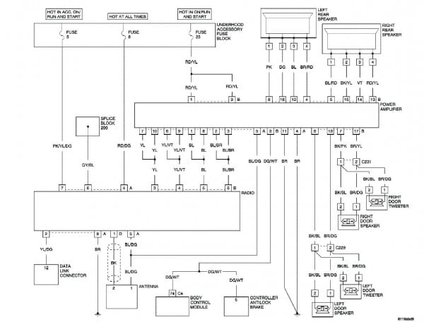 Diagram  Chrysler Pacifica 2005 Fuse Ac Stereo Full Version Hd Quality Ac Stereo