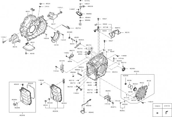 2006 Kia Sedona Engine Diagram