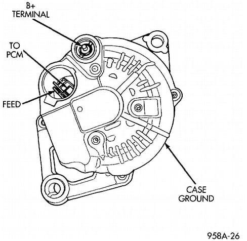 2007 Pt Cruiser Alternator Wiring Diagrams