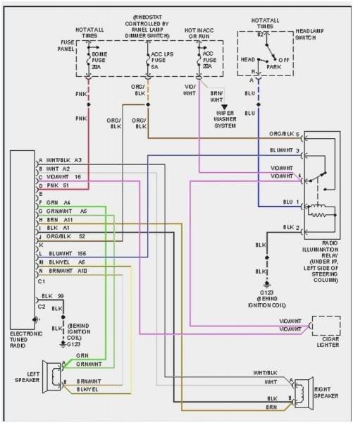 2013 Wrangler Stereo Wiring Diagram