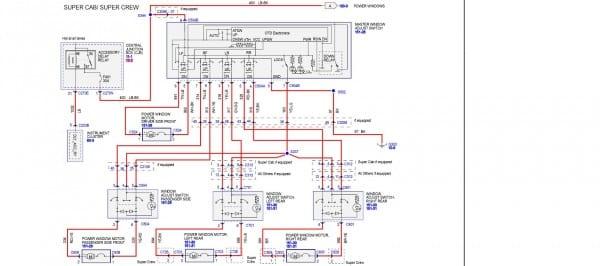 2005 F150 Window Wiring Diagram