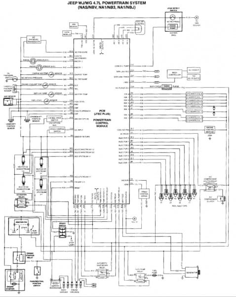 2011 Jeep Grand Cherokee Wiring Diagram