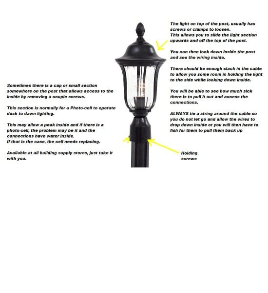 Porch Light And Lamp Post Connected On Same Inside Switch  Pole