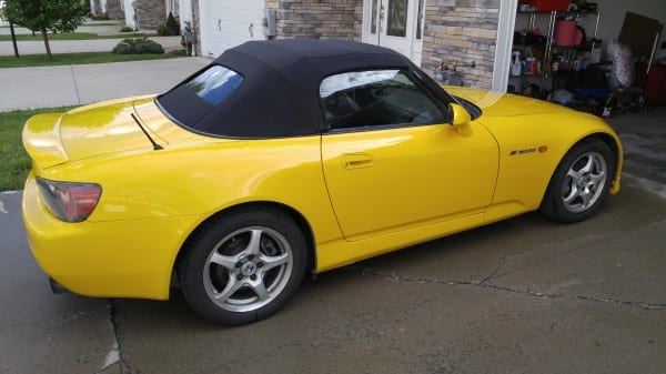 2019 Honda S2000 Lovely Wv 2001 Yellow S2000 $10 000 S2ki Honda