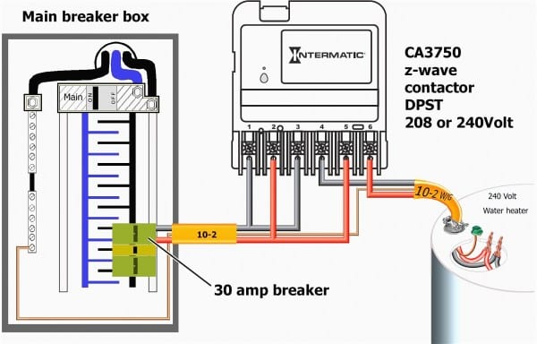 Wiring Diagram For 220 Outlet