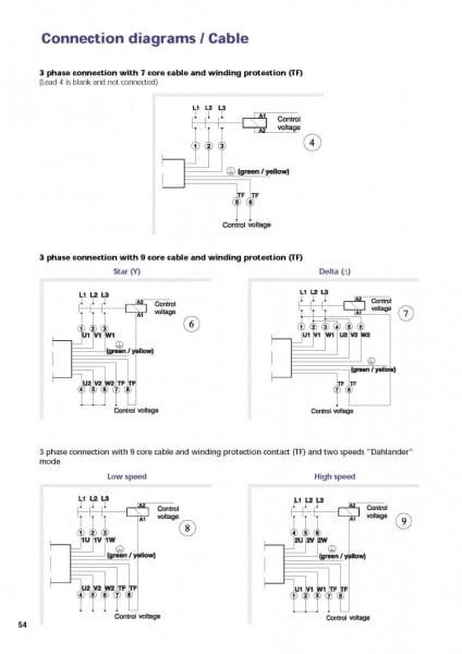 Modifying Three Phase Motors For Single Phase Use