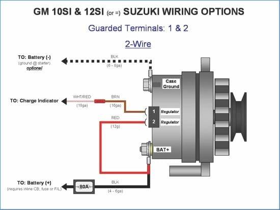 Two Wire Gm Alternator Wiring