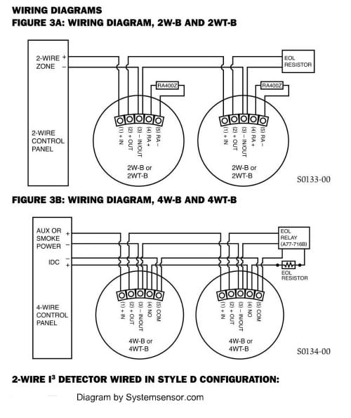 Dsc 2 Wire Smoke Detector Wiring Diagram