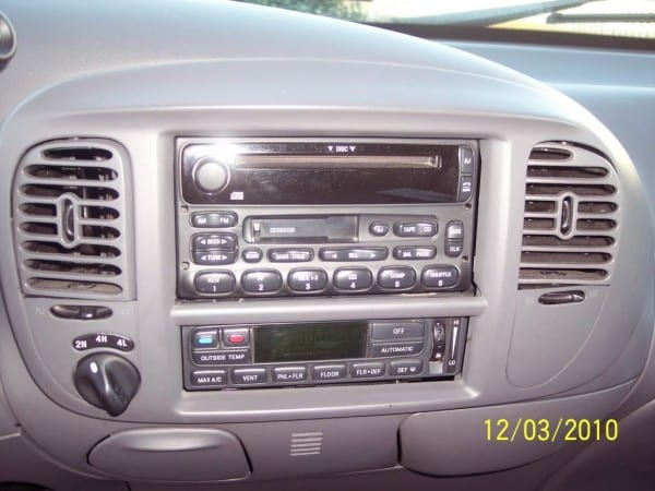 How To  Install Double Din Unit In 2003 F150