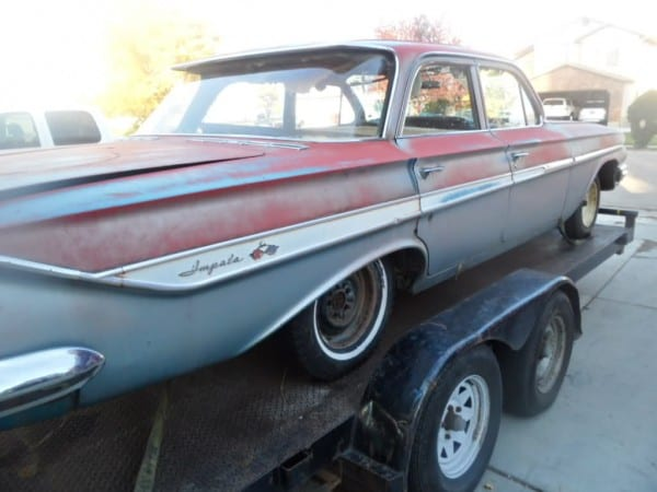 1961 Chevrolet Impala Parting Out