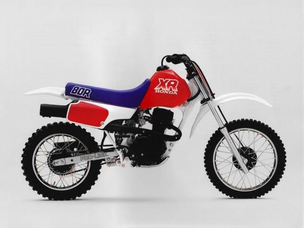 1987 Honda Xr80r