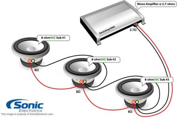 3 Ohm Wiring Diagram