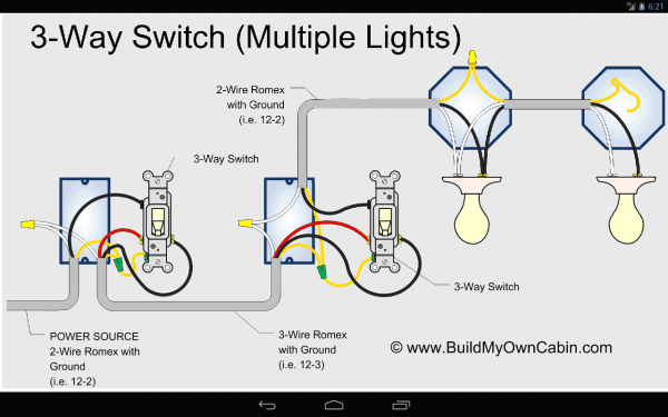 3 Way Switch Wiring Diagram Uk Inside Light