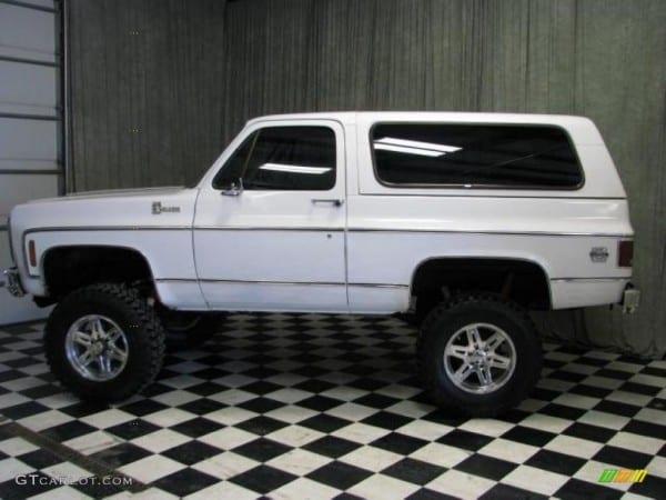1980 White Chevrolet Blazer K5 4x4  46244216 Photo  20