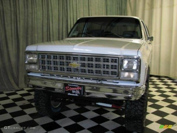 1980 White Chevrolet Blazer K5 4x4  46244216 Photo  5