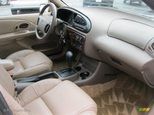 1999 Mercury Mystique Ls Interior Photo  49882880