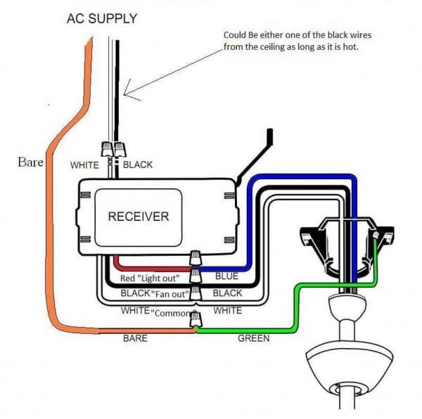 4 Wire Ceiling Fan Wiring Diagram 2