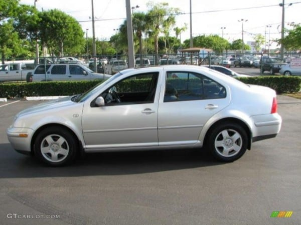 Silver Arrow Metallic 2000 Volkswagen Jetta Gls Tdi Sedan Exterior