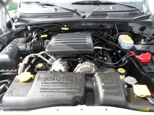 2001 Dodge Durango Slt 4 7 Liter Sohc 16