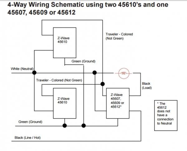 Ge 12723 4 Way Wiring Diagram
