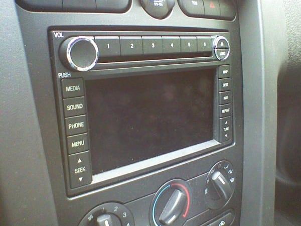 Installing Nav Radio In 2008 Mustang