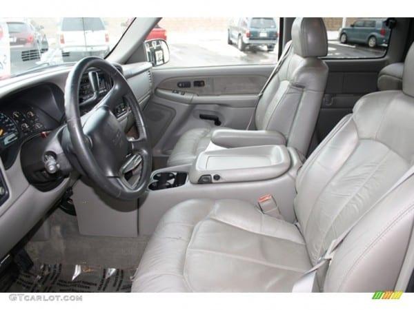 Graphite Interior 2000 Gmc Sierra 1500 Slt Extended Cab 4x4 Photo
