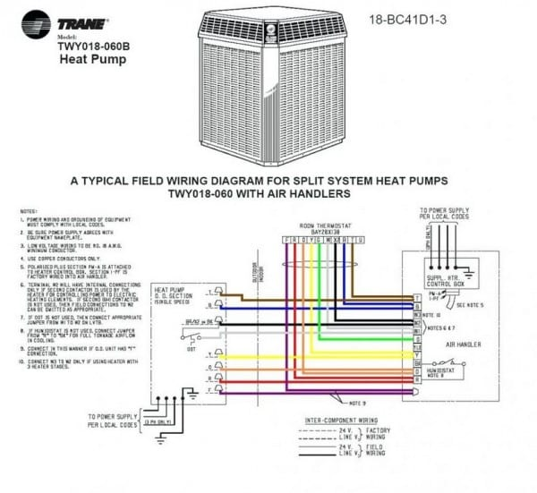 8 Wire Thermostat Wiring Color Code