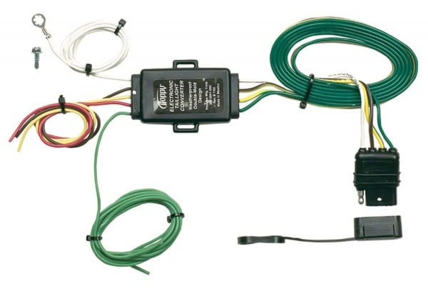 Amazon Com  Hopkins 48925 Tail Light Converter With 4 Wire Flat