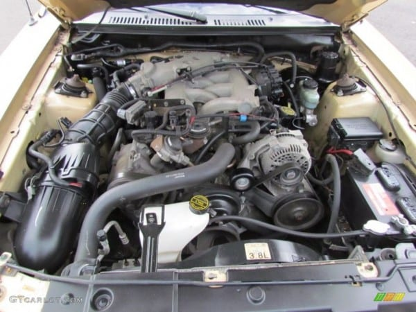 2000 Ford Mustang V6 Coupe 3 8 Liter Ohv 12