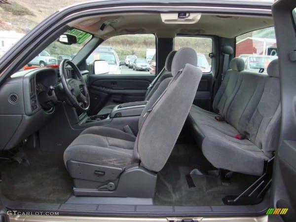 Dark Charcoal Interior 2005 Chevrolet Silverado 2500hd Ls Extended