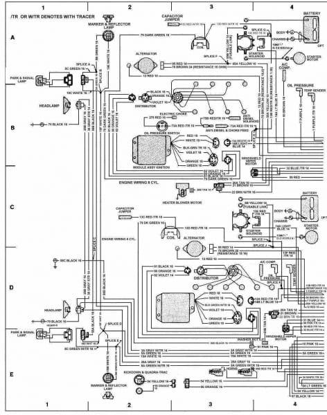 97 Wrangler Wiring Schematic