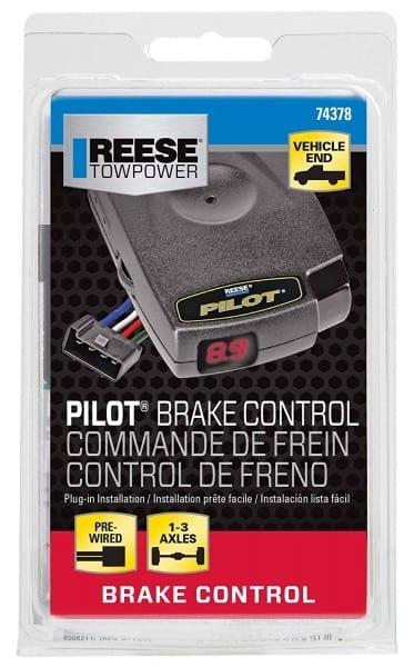 Amazon Com  Reese Towpower 74378 Pilot Brake Controller  Automotive