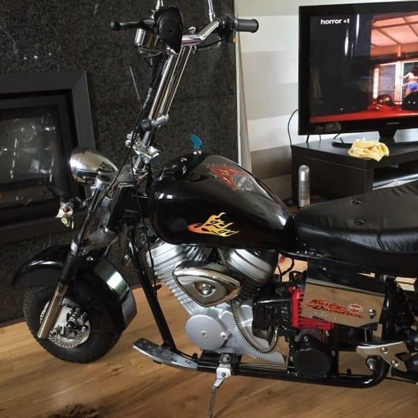 Harley Davidson Pocket Bike – Motorrad Bild Idee