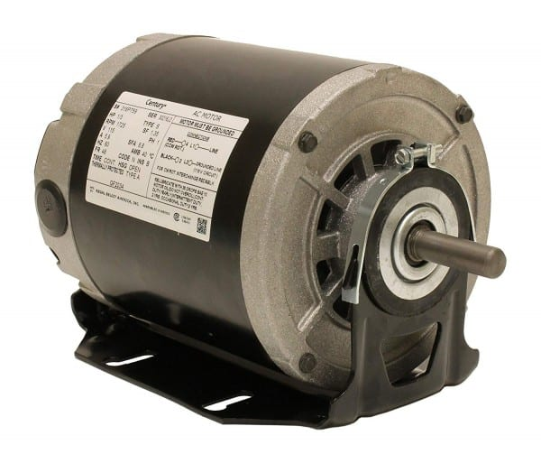 A O  Smith Gf2034 1 3 Hp, 1725 Rpm, 115 Volts, 48 56 Frame, Odp
