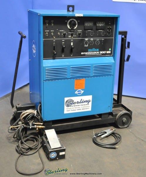 Used Miller Syncrowave 300 Tig Welder