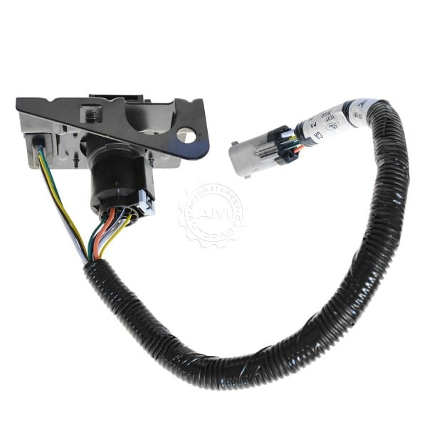 Ford 4 & 7 Pin Trailer Tow Wiring Harness W Plug & Bracket For