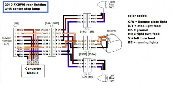 Harley Davidson Turn Signal Module Wiring Diagram - Wiring Diagram on