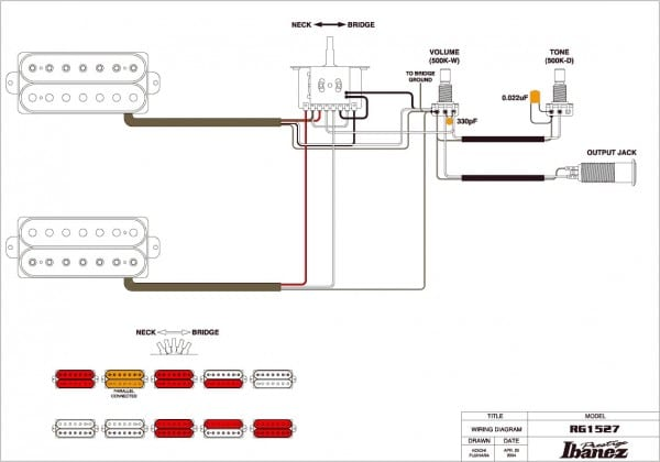 Ibanez Hh Wiring Diagram : Ibanez rg way switch