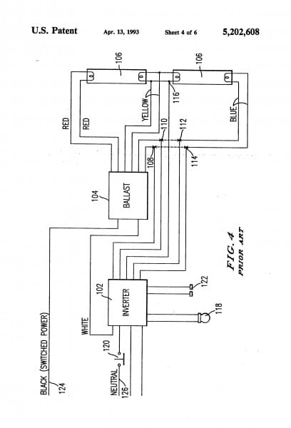 Best Of Ballast Wiring Diagram In Bodine B100 Emergency 0