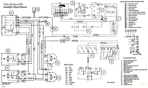 bmw e46 electrical diagram